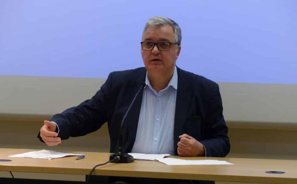 Michel Voilin, président de l'Union de quartier CBCH © Florent Mathieu - Place Gre'net