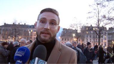 Antisémitisme en hausse. Aurélien Py, secrétaire général de la Licra Dauphiné-Savoies. © Joël Kermabon - Place Gre'net