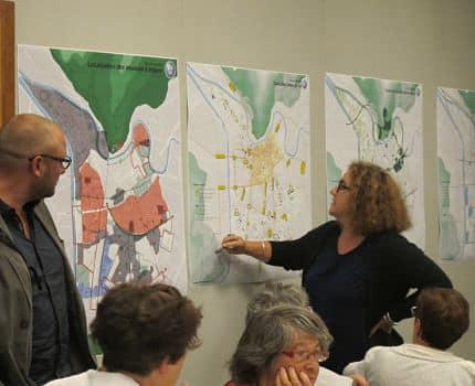Réunion de concertation à Grenoble en vue de la préparation du Plui. © Séverine Cattiaux - Place Gre'net