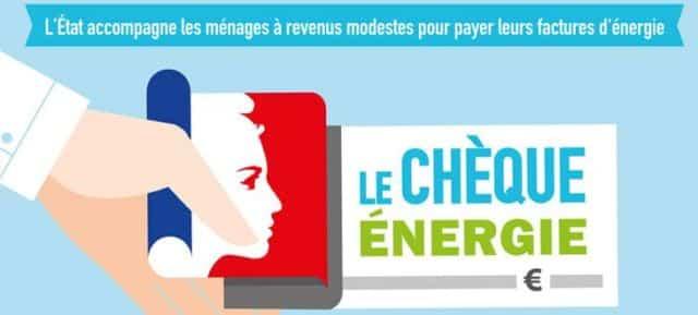 Visuel chèque énergie. DR