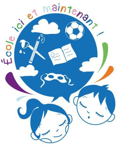 Visuel de l'association École ici et maintient. © École ici et maintenant