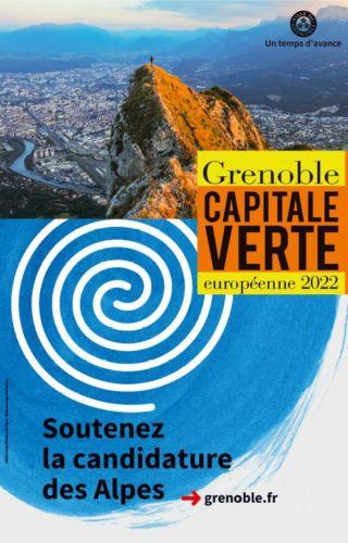 Grenoble appelle au soutien de sa candidature. DR