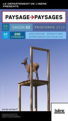 L'affiche de l'événement Paysage > Paysages © Département de l'Isère