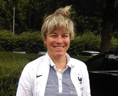 Cécile Locatelli, sélectionneur de l'équipe de France féminine des moins de seize ans. © Wikipedia