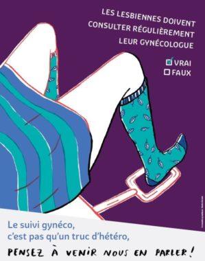 Campagne du Planning familial de l'Isère. © Planning Familial