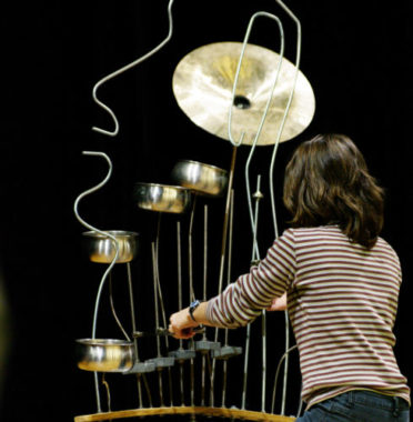 Sculptures sonores Philémoi Exposition sonore interactive. © Jean-Luc Chouteau
