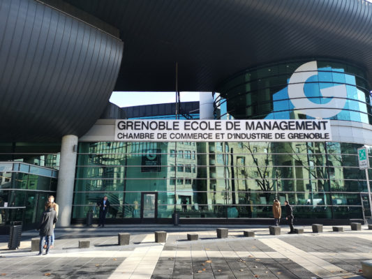 Grenoble École de management (GEM). © Joël Kermabon - Place Gre'net