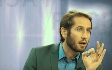 François-Xavier Pénicaud, conseiller régional MoDem en Auvergne Rhône-Alpes a annoncé sa décision de quitter la majorité régionale (capture écran vidéo Youtube Télélyon Métropole https://www.youtube.com/watch?v=NsIv-XEUcVM)
