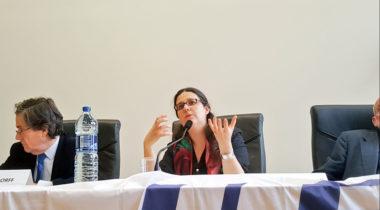 Gwendoline Delbos-Corfield, candidate iséroise sur la liste EELV de Yannick Jadot. DR