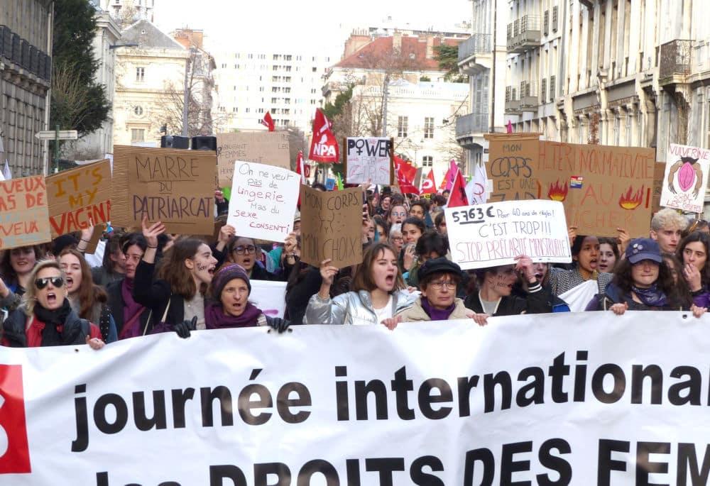 Manifestation de la Journée internationale des Droits des femmes 2019 à Grenoble © Florent Mathieu - Place Gre'net