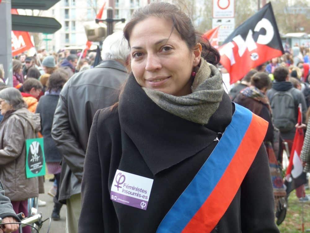 Émilie Marche, conseillère régionale d'opposition Auvergne-Rhône-Alpes © Florent Mathieu - Place Gre'net