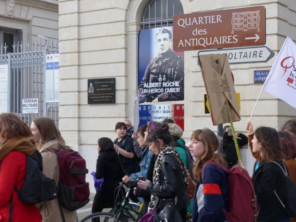 Manifestation de la Journée internationale des Droits des femmes Grenoble 8 mars 2019 © Florent Mathieu - Place Gre'net