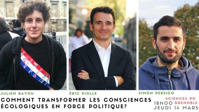 Le maire de Grenoble Éric Piolle compte parmi les invités du festival de Sciences-Po Grenoble