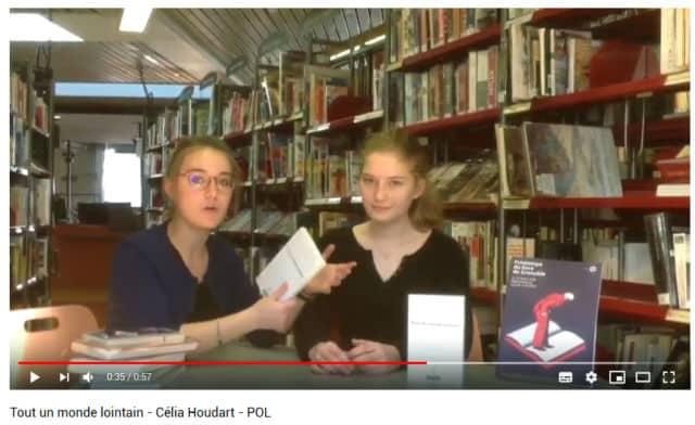Capture d'écran d'un booktube réalisé par les élèves de 1ère du Lycée Stendhal dans le cadre du Printemps du livre de Grenoble 2018