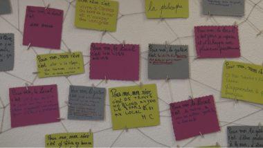 Sur les murs du local... © Joël Kermabon - Place Gre'net