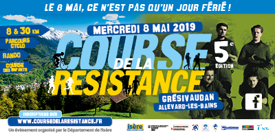 Course de la Résistance mercredi 8 mai 2019 en Isère