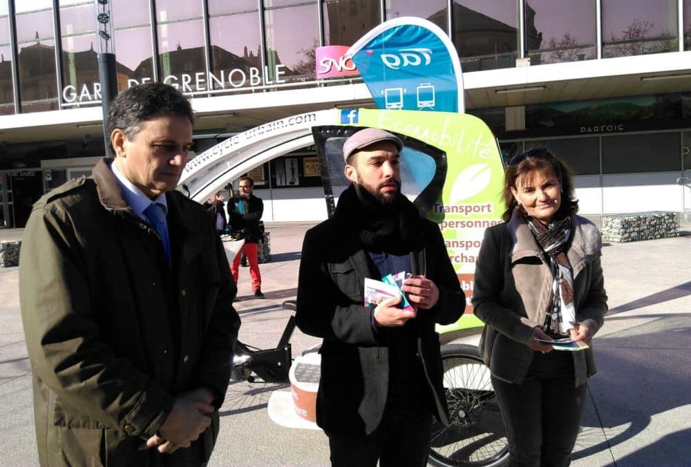 De gauche à droite, Philippe Chervy, Yann Mongaburu et Cécile Jayet © Florent Mathieu - Place Gre'net