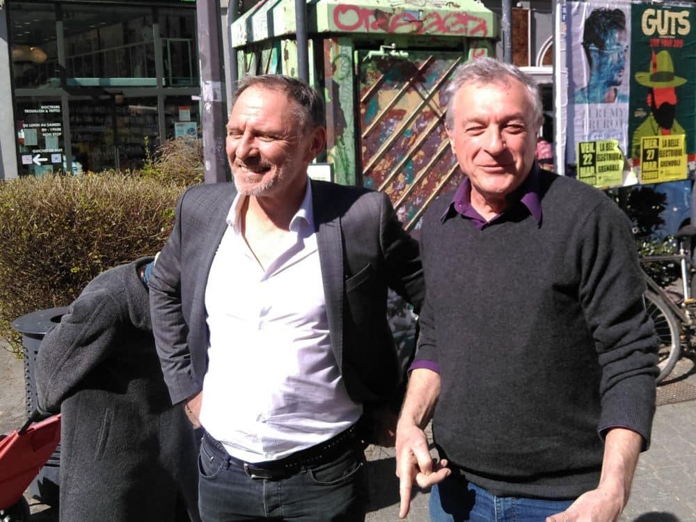 De gauche à droite, Thierry Monel et Paul Bron © Florent Mathieu - Place Gre'net