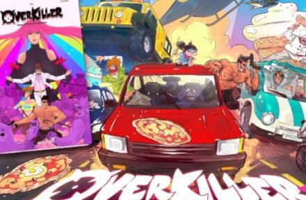 Le comics Overkiller chez Uppercut Editions.