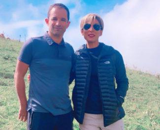 Zerrin Bataray et Benoît Hamon, le 2 septembre 2018. © Compte Twitter @ZerrinBATARAY