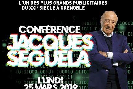 Le célèbre publicitaire Jacques Séguéla donne une conférence autour de son dernier ouvrage sur le campus de Grenoble le mardi 25 mars.