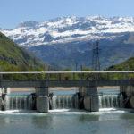 Hydroélectricité alpine : cap sur le numérique et l'écologie Barrage de Livet-Gavet en eau. © EDF