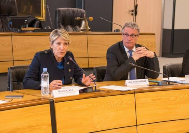 Martine Kohly et Jean-Pierre Barbier © Département de l'Isère