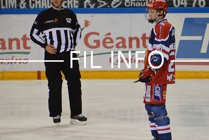 L'ancien joueur des Brûleurs de Loups Alexandre Texier a fait ses débuts en NHL, le plus prestigieux championnat de hockey sur glace au monde le 5 avril 2019. © Laurent Genin
