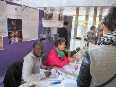 """""""Le jardin sans frontière"""" projet retenu au forum des idées du cinquième budget participatif, samedi 13 avril 2019 © Séverine Cattiaux - Place Gre'net"""