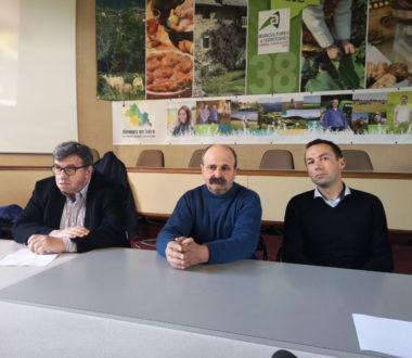 Tout à droite : Grégoire Maleval, président du GDS Rhône-Alpes. © Joël Kermabon - Place Gre'net