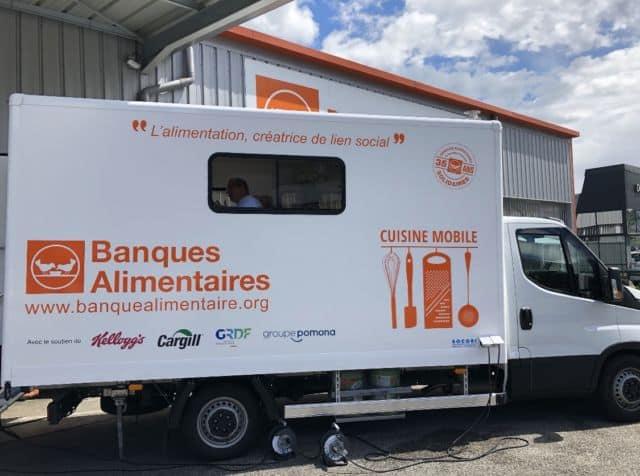 Un Tour de France divisé en 35 étapes de 2 jours pour ce camion-cuisine