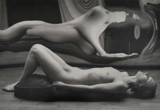 André Kertesz Distorsion n°45, 1933 (Tirage de 1970) Épreuve gélatino-argentique 17,2 x 24,7 cm Crédit photographique : Cloé Beaugrand © RMN-Grand Palais - Gestion droit d'auteur