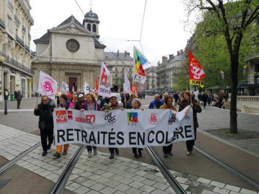 Printemps des retraités à Grenoble. © Joël Kermabon - Place Gre'net