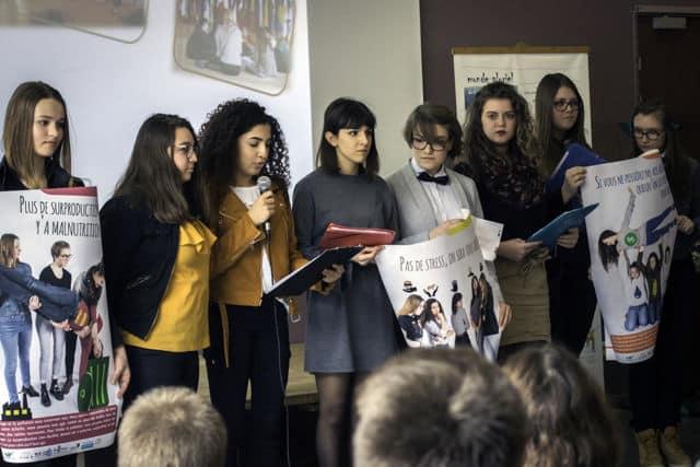 Ce 12 avril, à Grenoble, Monde Pluriel organise la conférence régionale « Prenons soin de la planète » à laquelle six établissements rhônalpins participent.© Monde Pluriel