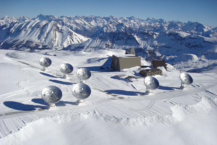 Observatoire Noema sur le plateau de Bure. © Iram