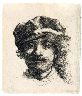 Rembrandt aux trois moustaches. © D.Guillaudin pour le Fonds Glénat
