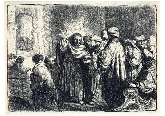 Rembrandt : Le denier de César. Rembrandt_Le Denier de César © D.Guillaudin pour le Fonds Glénat