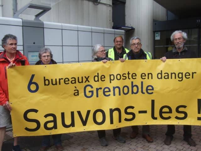 Ils étaient près de 2000 à manifester ce 9 mai contre la réforme de la fonction publique, selon la préfecture de l'Isère, 3000 selon la CGT.En plus des bureaux de Championnet et Grand'Place, La Poste souhaite supprimer ceux Bajatière et Stalingrad, ainsi que trois autres.