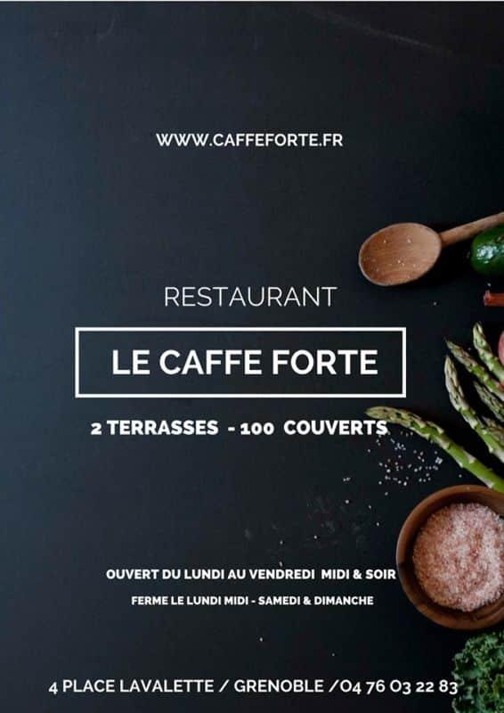 Restaurant Le Caffe Forte à Grenoble