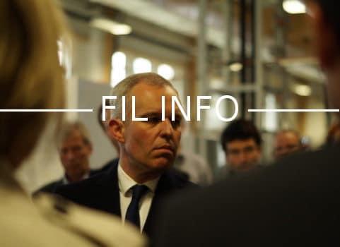 François de Rugy reprend la main sur le projet de plateforme multimodale prévu sur le site d'Inspira, zone industrialo-portuaire contestée en Isère.