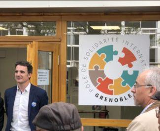 Inauguration Pôle Solidarité