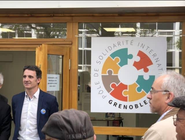 Inauguration du Pôle de Solidarité internationale de Grenoble, siège de Santé Diabète © Place Gre'net