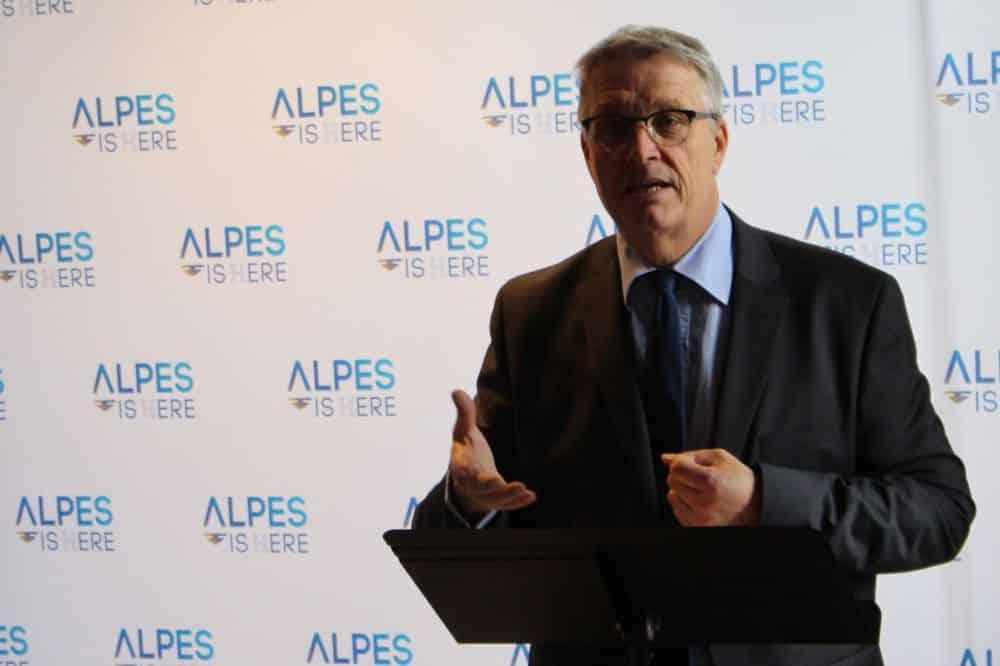 Le président du Département de l'Isère Jean-Pierre Barbier © Jules Peyron - Place Gre'net