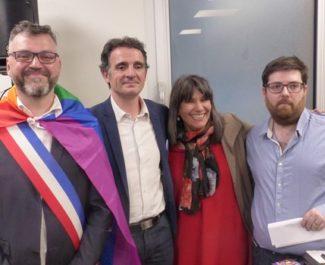 Grenoble inaugurait venredi 18 mai son nouveau Centre LGBT, un espace plus grand pour onze associations de lutte pour les droits et contre l'homophobie.