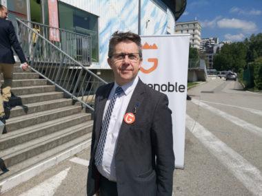 Christophe Ferrari, président de Grenoble-Alpes Métropole. © Joël Kermabon - Place Gre',et