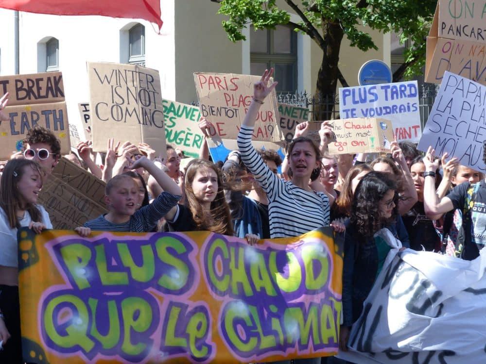 coronavirus Les Marches pour le climat prévues à Grenoble et à Chambéry le samedi 14 mars sont également annulées © Florent Mathieu - Place Gre'net