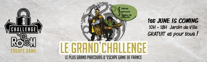 Le Grand challenge le plus grand parcours d