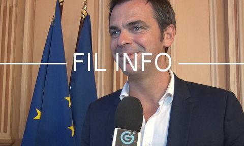 Olivier Véran, député LREM de l'Isère. © Joël Kermabon - Place Gre'net
