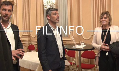 Guillaume Gontard, sénateur de l'Isère. © Joël Kermabon - Place Gre'net