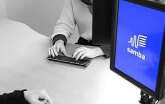 Une solution logicielle d'accueil pour étudiants malentendants baptisée Samba-E a été développée par des chercheurs de l'UGA et du CEA.© CEA - B.Truong